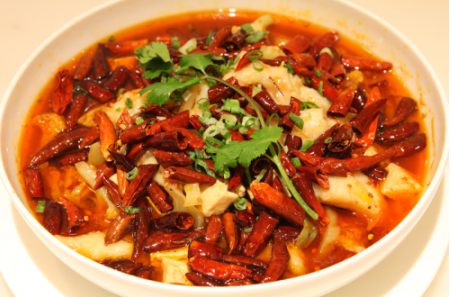 Sichuanese Boiled Fish